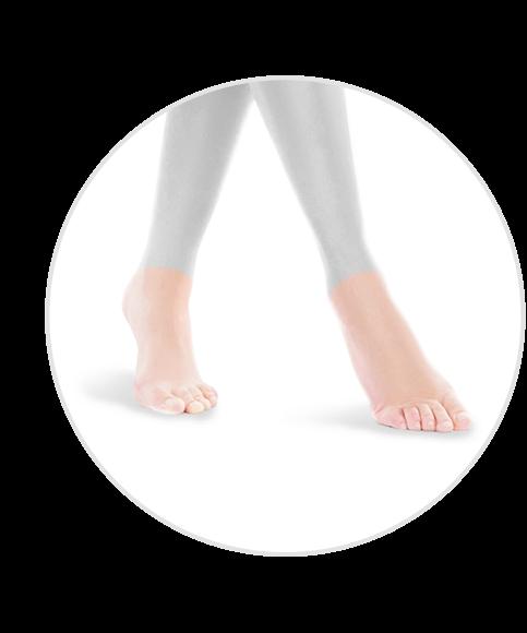 depilacja stóp