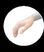 depilacja dłoni