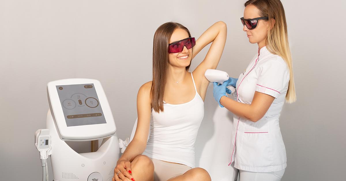depilacja laserowa, depilacja laserowa pach