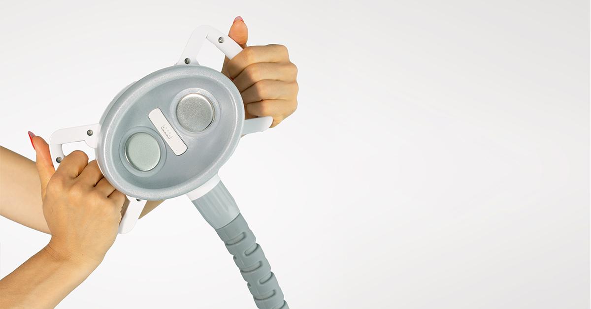 Głowica ultradźwiękowa urządzenia do endermologii endermoSPEC.