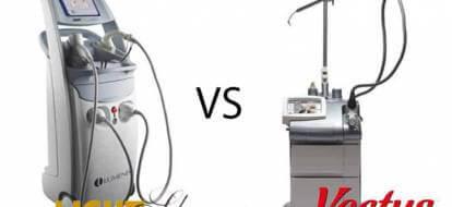 dwa urządzenia do depilacja laserowej