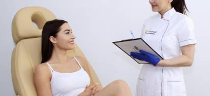 Konsultacja dotyczaca depilacji laserowej