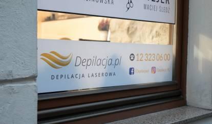 witryna salonu depilacja.pl wKrakowie