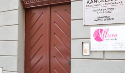 wejście do salonu depilacja.pl wToruniu